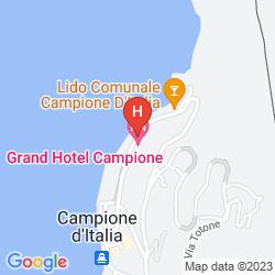 Mapa GRAND HOTEL CAMPIONE