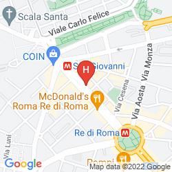 Mapa CHROMA PENTE
