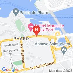 Mapa SOFITEL MARSEILLE VIEUX PORT