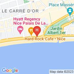 Mapa LE MERIDIEN NICE
