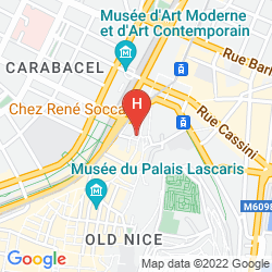 Mapa VILLA LA TOUR