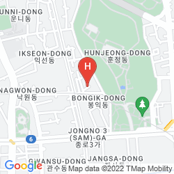 Mapa 24 GUESTHOUSE JONGNO 3GA STN