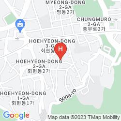 Mapa NAMSAN GUEST HOUSE 4