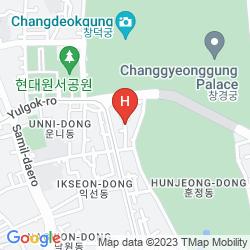 Mapa YOO'S FAMILY GUEST HOUSE YEORUMJIP