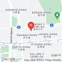 Mapa KHAOSAN STORY MINI HOTEL
