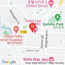 Mapa AMBER HOTEL
