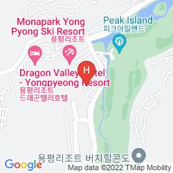 Mapa YONGPYONG RESORT TOWER CONDOMINIUM