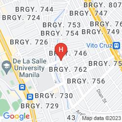 Mapa HOTEL BENILDE MAISON DE LA SALLE