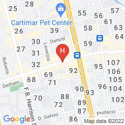 Mapa HALINA DRIVE INN HOTEL - PASAY