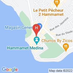Mapa BRAVO GARDEN