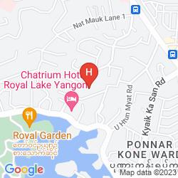 Mapa BEST WESTERN GREEN HILL HOTEL