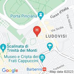 Mapa PICCOLO PIAZZA DI SPAGNA SUITES