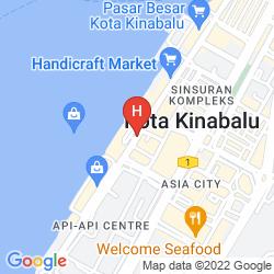Mapa UNIC HOTEL