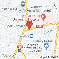 Mapa AZALAI HOTEL DUNIA