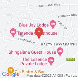 Mapa HAZYVIEW PROTEA