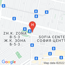 Mapa CENTRAL HOTEL SOFIA