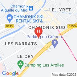 Mapa LE REFUGE DES AIGLONS