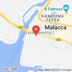 Mapa BALIK PULAU HOTEL