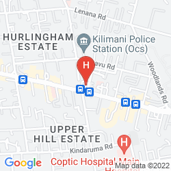 Mapa BEST WESTERN PREMIER NAIROBI