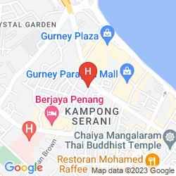Mapa G HOTEL KELAWAI