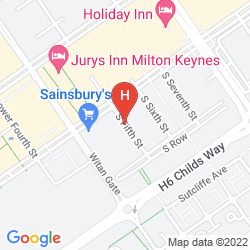 Mapa CITY STAY APARTMENTS - VIZION