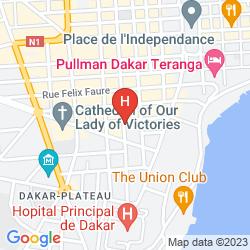 Mapa CAFÉ DE ROME BUSINESS HOTEL