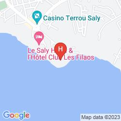 Mapa PALM BEACH HOTEL