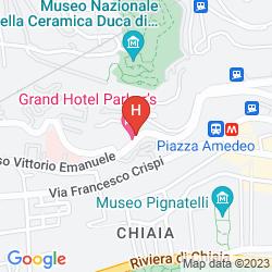 Mapa GRAND HOTEL PARKER'S