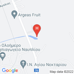 Mapa NAFPLIA PALACE HOTEL & VILLAS