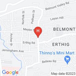Mapa VILLA SHALOM GUEST HOUSE
