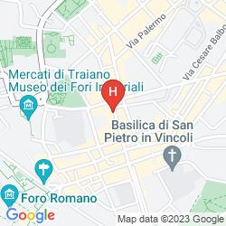 Mapa ANFITEATRO FLAVIO