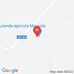 Mapa AGRITURISMO CASCINA SCOLA