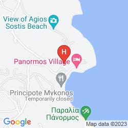 Mapa PANORMOS VILLAGE