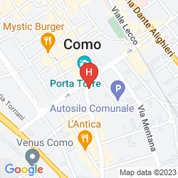 Mapa LE DUE CORTI