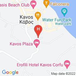 Mapa MORFEAS HOTEL