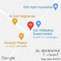 Mapa AJMAN