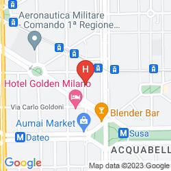 Mapa UNDICI MILANO