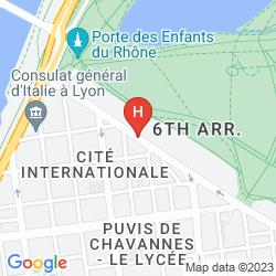 Mapa WARWICK REINE ASTRID - LYON