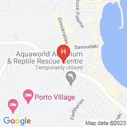 Mapa HARIS APARTMENTS