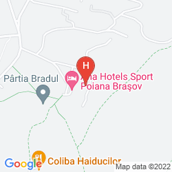 Mapa ANA HOTELS SPORT POIANA BRASOV