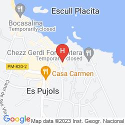 Mapa APARTAMENTOS POU DES PUJOLS