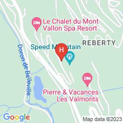 Mapa RESIDENCE PIERRE & VACANCES ACONIT