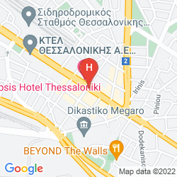 Mapa BEST WESTERN VERGINA