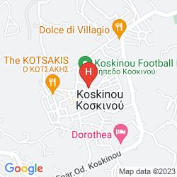 Mapa VIRGINIA FAMILY SUITES