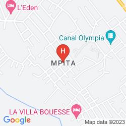 Mapa RESIDENCE SAINT-JACQUES BORD DE MER