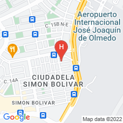 Mapa AIR SUITES