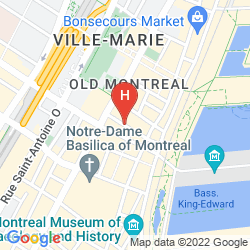 Mapa SPRINGHILL SUITES OLD MONTREAL