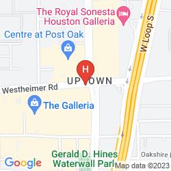 Mapa THE WESTIN OAKS HOUSTON AT THE GALLERIA