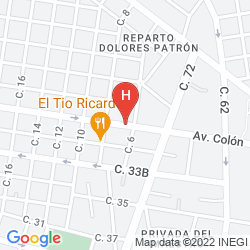 Mapa WYNDHAM MERIDA