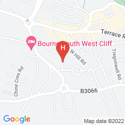 Mapa THE APPLEWOOD HOTEL